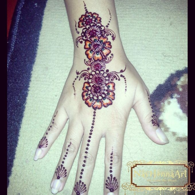 Henna or Mehndi For Fun by Nay Henna Art - 004