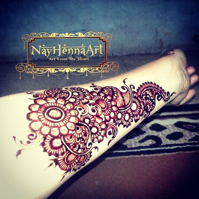 Henna or Mehndi For Fun by Nay Henna Art - 001