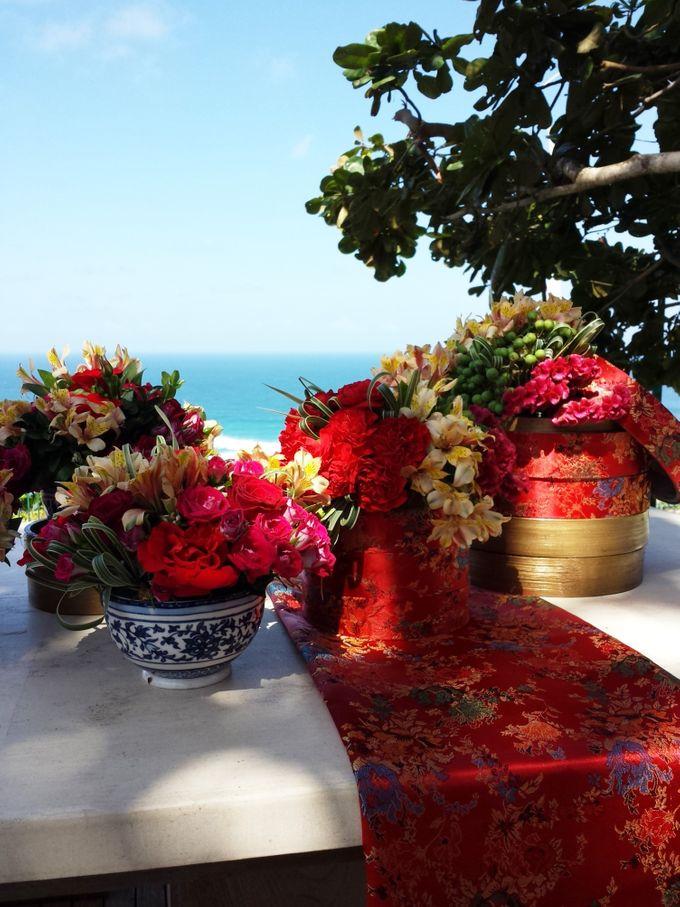 Tea Ceremony - Marlon & Lidia by Puri Amanda Flower Boutique - 004