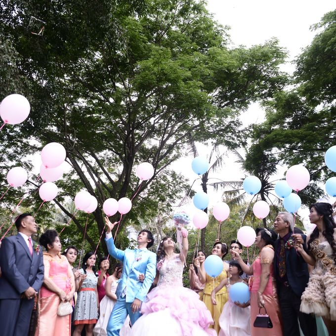 The Wedding of Lukman & Tika by C+ Productions - 005