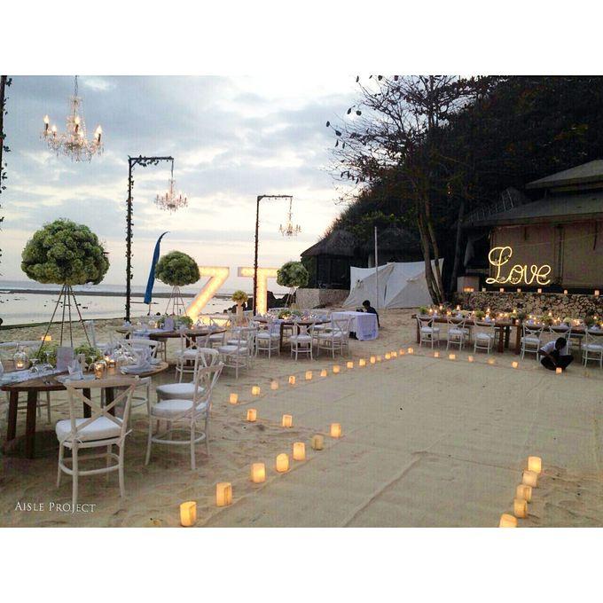 Beach Wedding Dream by Aisle Project - 003