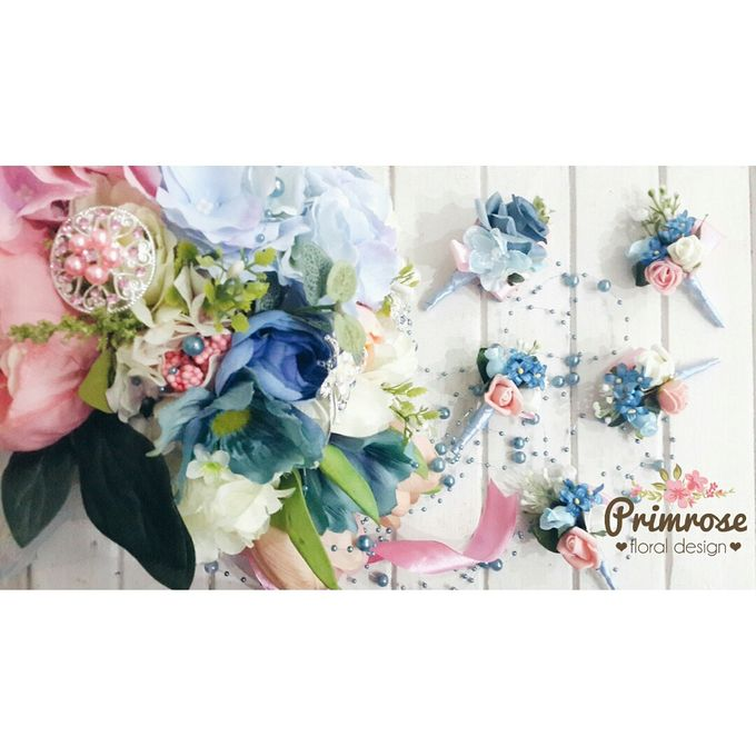 Boutonniere & Corsage by Primrose Floral Design - 013