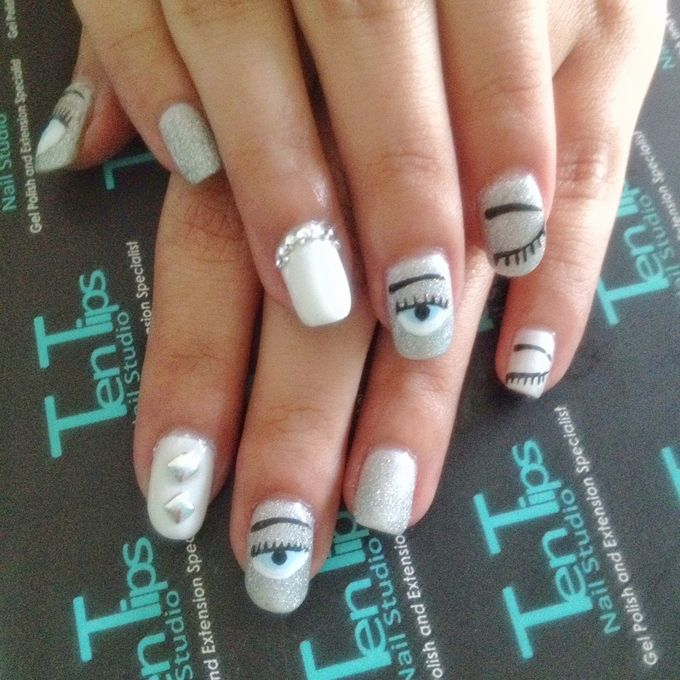 Engagement Nails by Ten Tips Nail Studio - 011