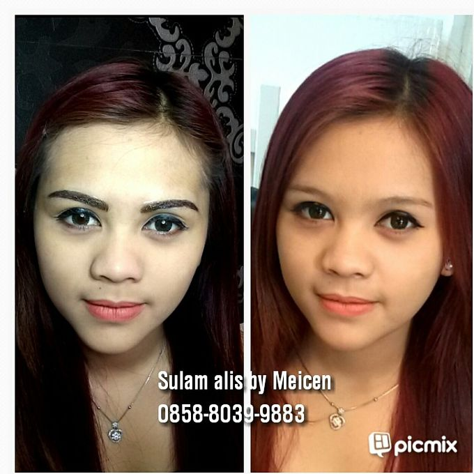 eyebrow embroidery sulam alis by Xin-Ai Bride - 001