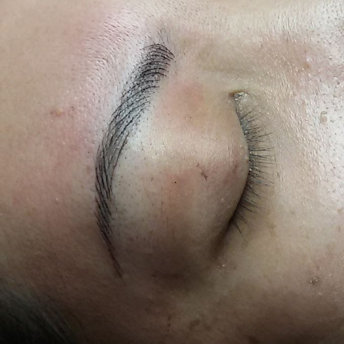 eyebrow embroidery sulam alis by Xin-Ai Bride - 003