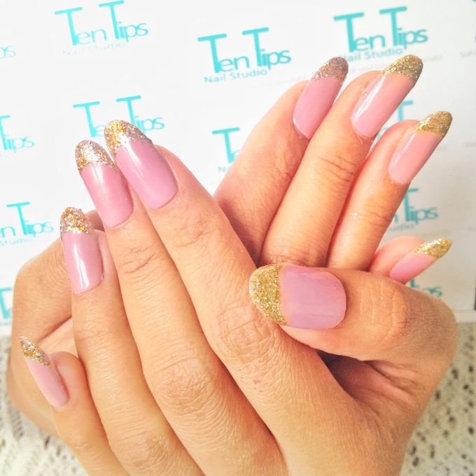 Engagement Nails by Ten Tips Nail Studio - 012