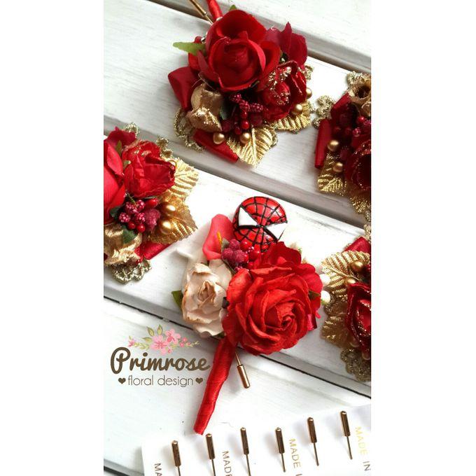 Boutonniere & Corsage by Primrose Floral Design - 023