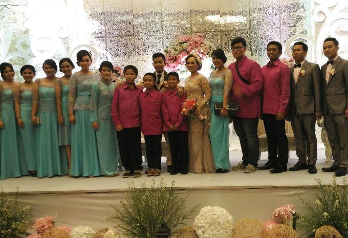 MC Wedding and Ceremony Echy & Iyan by She La Vie Organizer & Decoration - 009