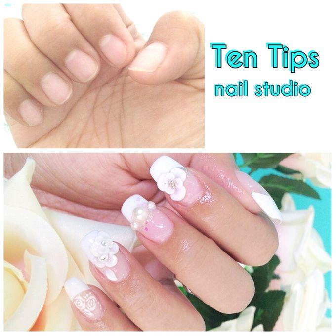 Wedding Nails by Ten Tips Nail Studio - 008