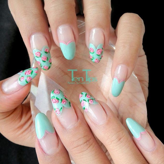 Engagement Nails by Ten Tips Nail Studio - 009