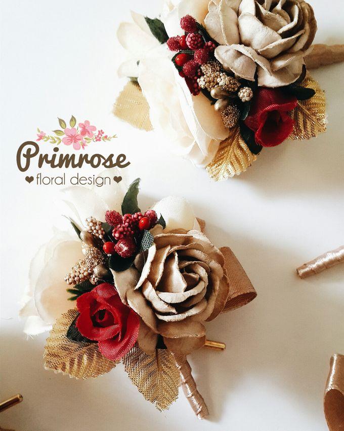 Boutonniere & Corsage by Primrose Floral Design - 036