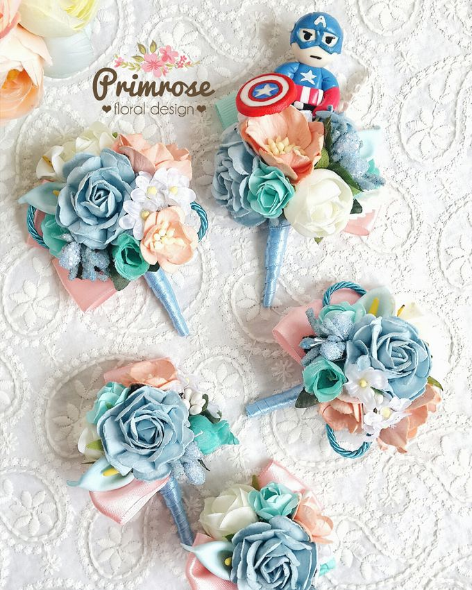Boutonniere & Corsage by Primrose Floral Design - 039