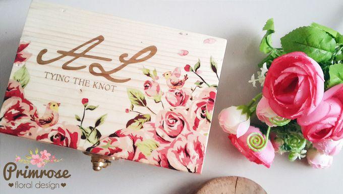 Wedding Ring Box by Primrose Floral Design - 011