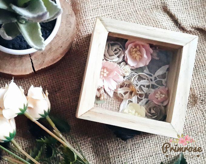 Wedding Ring Box by Primrose Floral Design - 009