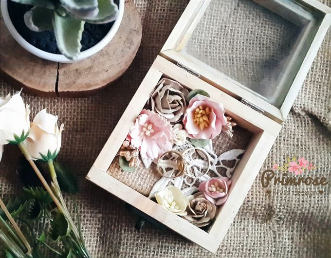 Wedding Ring Box by Primrose Floral Design - 010