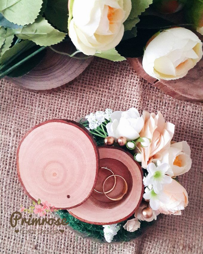 Wedding Ring Box by Primrose Floral Design - 008