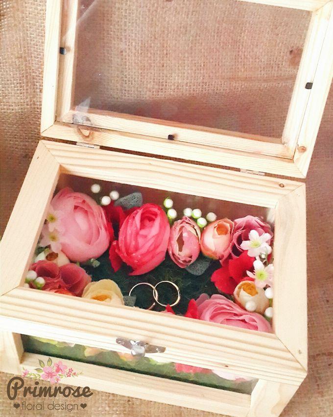 Wedding Ring Box by Primrose Floral Design - 004
