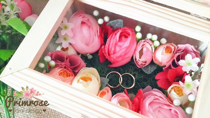 Wedding Ring Box by Primrose Floral Design - 005