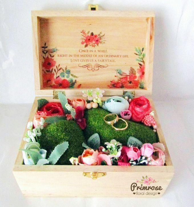 Wedding Ring Box by Primrose Floral Design - 001