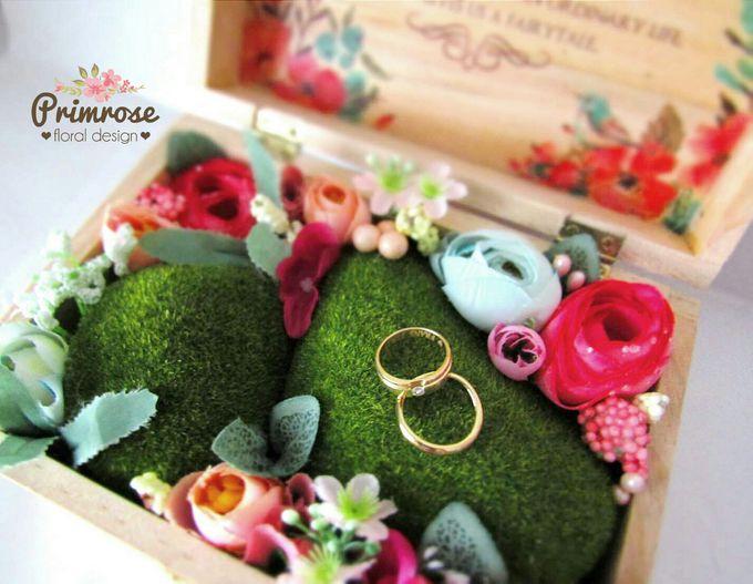 Wedding Ring Box by Primrose Floral Design - 002
