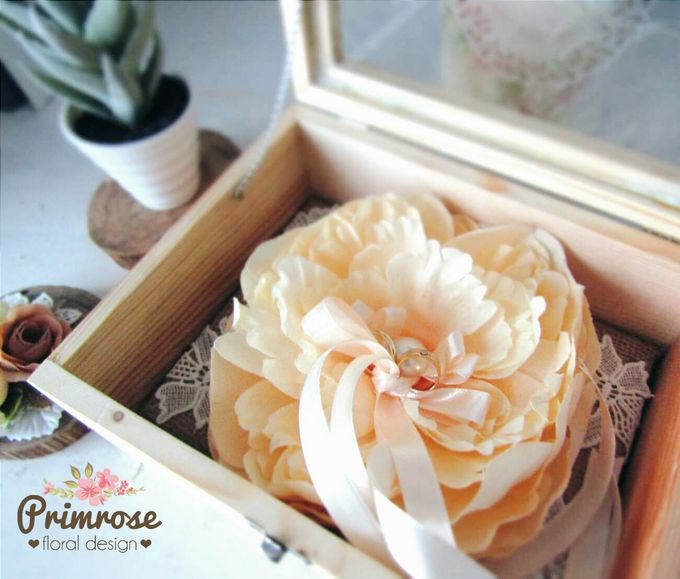Wedding Ring Box by Primrose Floral Design - 020