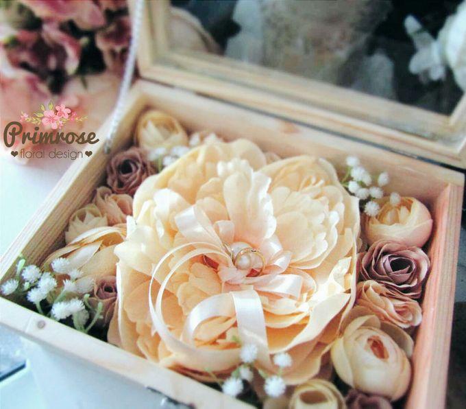 Wedding Ring Box by Primrose Floral Design - 021