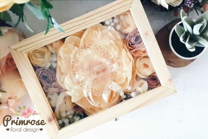 Wedding Ring Box by Primrose Floral Design - 022