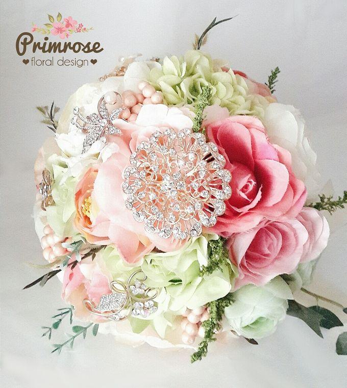 Wedding Bouquet - Handbouquet by Primrose Floral Design - 036