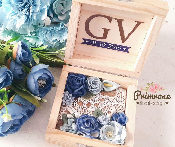 Wedding Ring Box by Primrose Floral Design - 024