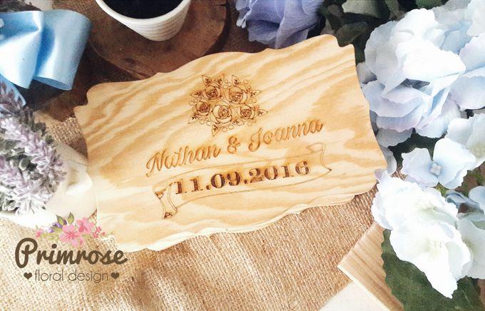 Wedding Ring Box by Primrose Floral Design - 013