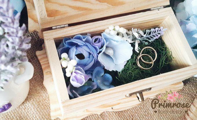 Wedding Ring Box by Primrose Floral Design - 015