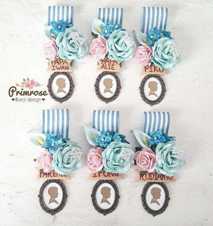 Boutonniere & Corsage by Primrose Floral Design - 042