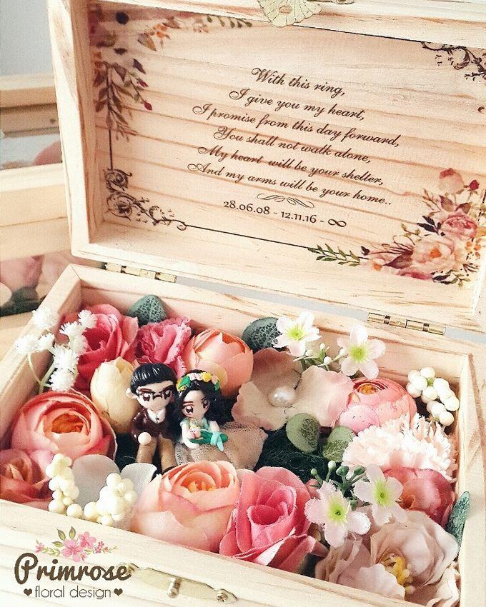 Wedding Ring Box by Primrose Floral Design - 023