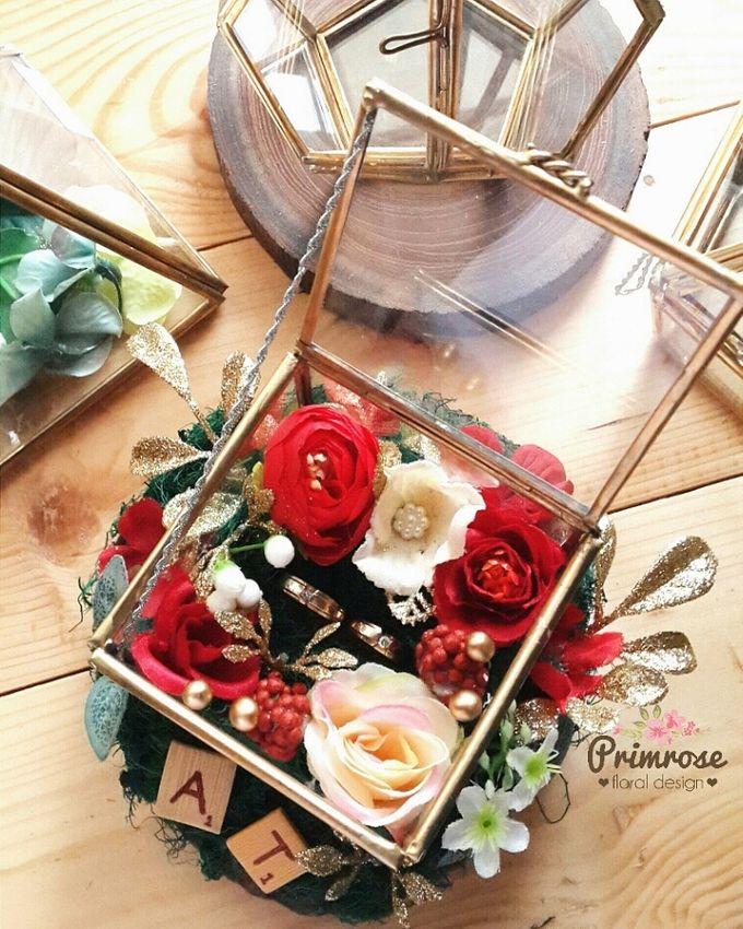 Wedding Ring Box by Primrose Floral Design - 018