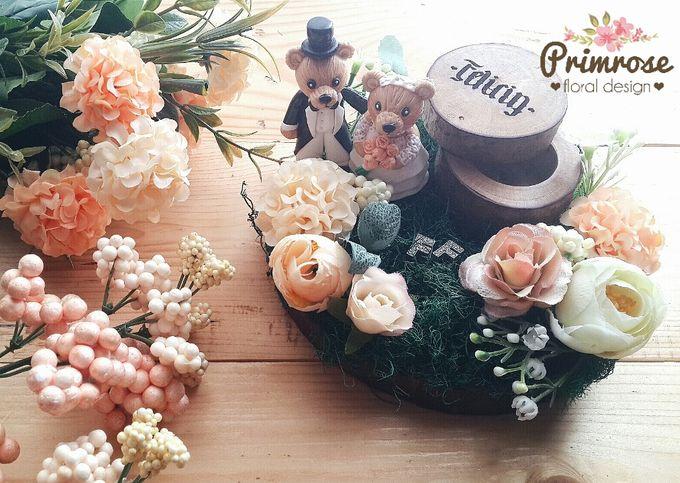 Wedding Ring Box by Primrose Floral Design - 017
