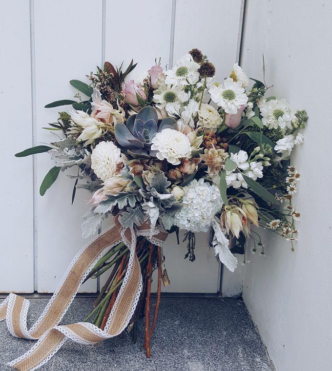 Bridal Bouquets by Ever & Blue Floral Design - 001