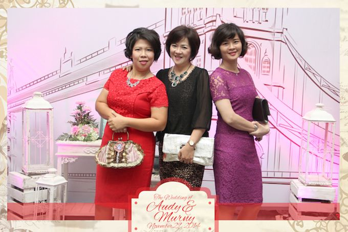 The Wedding of Audy & Murny by After 5 Photobooth - 002