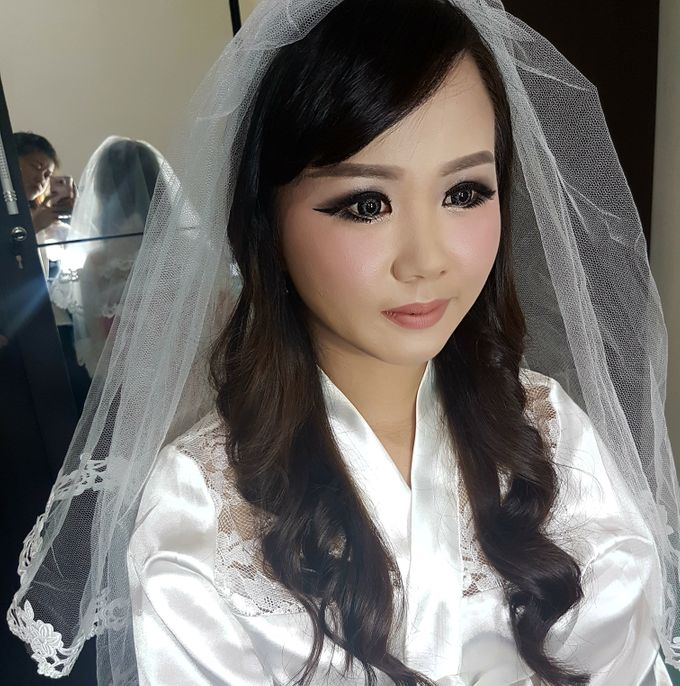 Makeup for Ms Dessy by The Bridea - 002