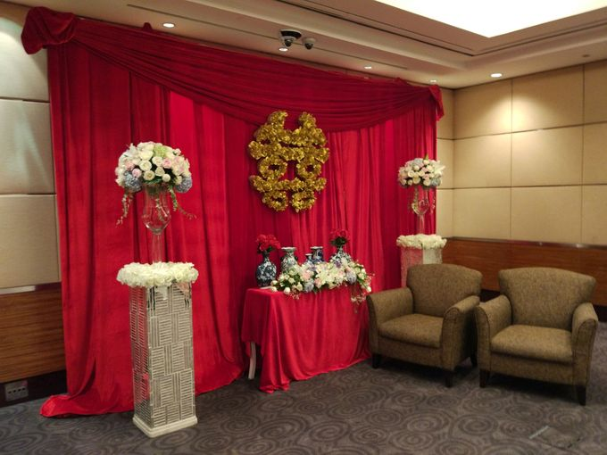 Wedding of Marshal & Maya at Residence On Five Hyatt Hotel on July 16th 2017 by Sparkling Organizer - 006