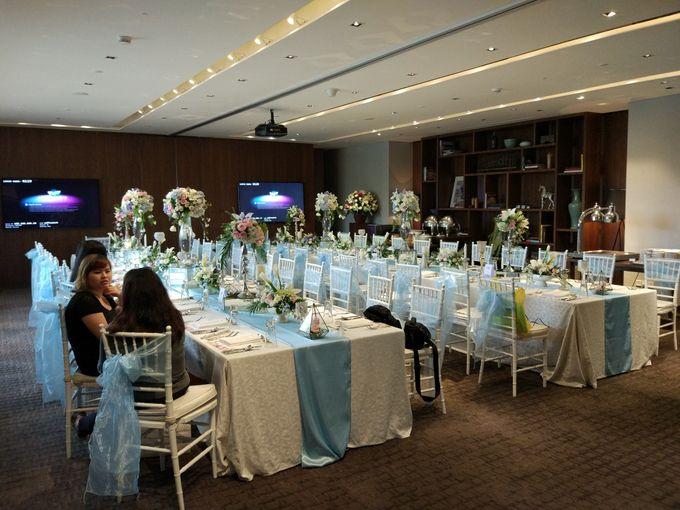 Wedding of Marshal & Maya at Residence On Five Hyatt Hotel on July 16th 2017 by Sparkling Organizer - 009