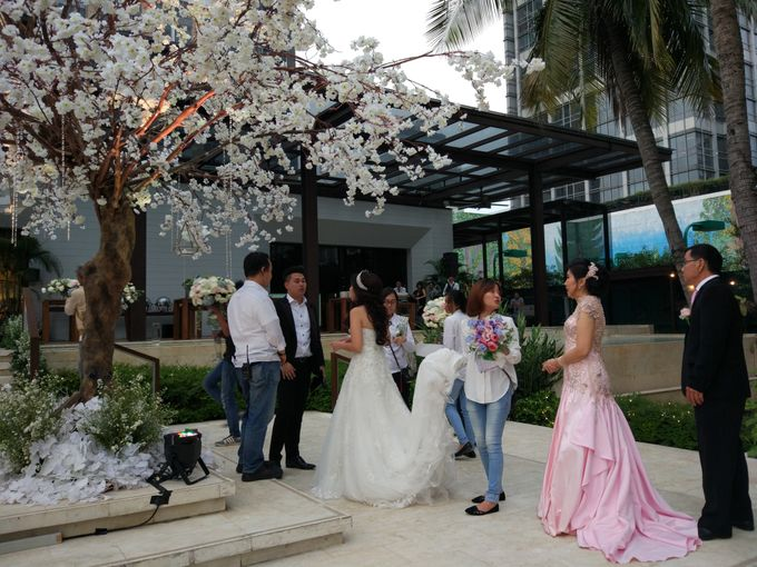Wedding of Marshal & Maya at Residence On Five Hyatt Hotel on July 16th 2017 by Sparkling Organizer - 023