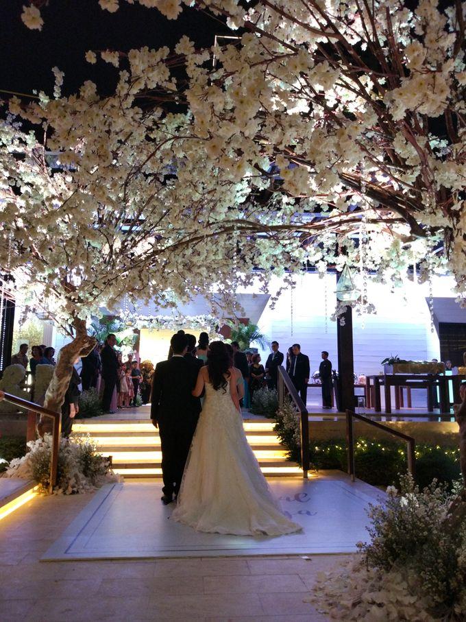 Wedding of Marshal & Maya at Residence On Five Hyatt Hotel on July 16th 2017 by Sparkling Organizer - 035