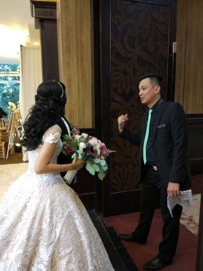 Wedding of Steven & Renata at Grand Slipi Tower on July 22nd 2017 by Sparkling Organizer - 019