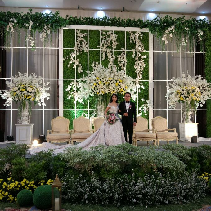 Wedding of Steven & Renata at Grand Slipi Tower on July 22nd 2017 by Sparkling Organizer - 030