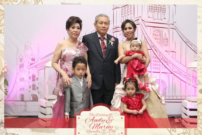 The Wedding of Audy & Murny by After 5 Photobooth - 003