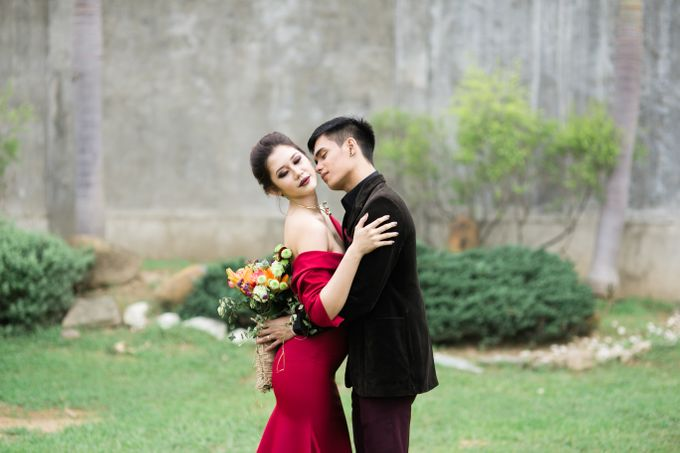 Noir et Marsala by Capturing Smiles Photography - 006