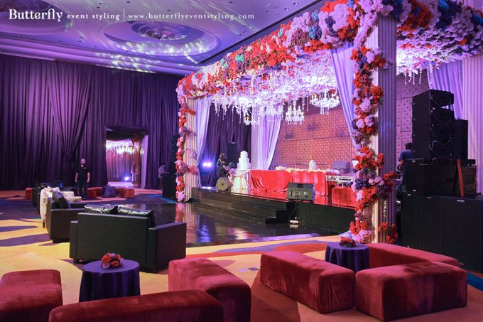 Sangeet Decoration by Butterfly Event Styling - 012