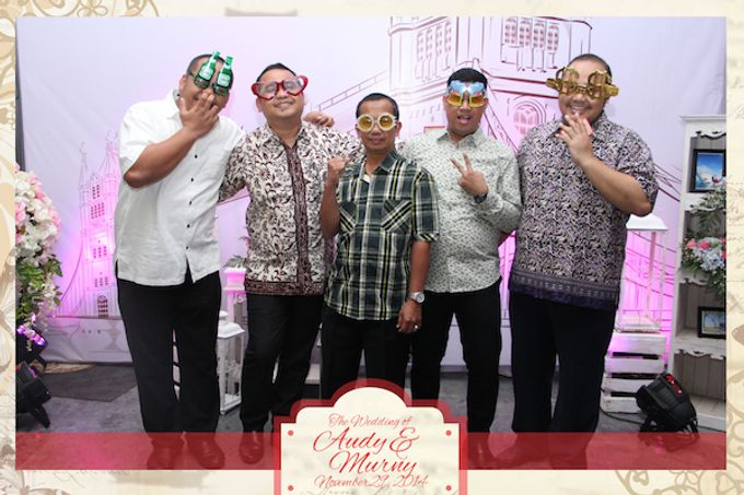 The Wedding of Audy & Murny by After 5 Photobooth - 004