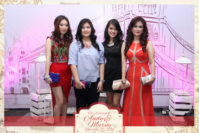 The Wedding of Audy & Murny by After 5 Photobooth - 005