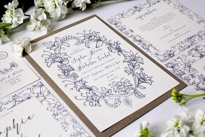 Spring Suite by With Paloma Stationery & Design - 002